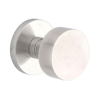 Emtek Modern Round Stainless Steel Door Knob