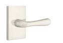 Emtek Basel Lever Handle with Modern Rectangular Rosette