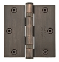 Emtek 3.5 Inch Steel Heavy Duty Ball Bearing Door Hinges with Square Corners  (pair)