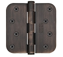 Emtek 4 Inch Residential Duty Door Hinges with 5/8 Inch Round Corners