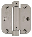 Emtek 3.5 Inch Steel Spring Door Hinges with 5/8 Inch Round Corners  (pair)