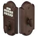 Emtek Sand Cast Electronic Keypad Deadbolt Lockset