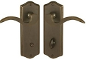 Emtek Colonial Thumbturn Privacy NON-KEYED Sideplate