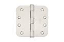 Emtek 4 Inch Stainless Steel Heavy Duty Door Hinges with 5/8 Inch Radius Corners