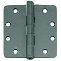 PHG 4 Inch Commercial Grade Plain Bearing Hinge with 1/4 Inch Radius Corners (each)