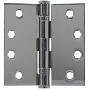 PHG 4 Inch Commercial Grade Ball Bearing Hinge with Square Corners (each)