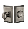 Grandeur Fifth Avenue Deadbolt - Single Cylinder