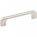 Hardware Resources Alvar 4-7/16 Inch Overall Cabinet Pull - Polished Nickel