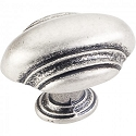 Hardware Resources Amsden 1-7/16 Inch Cabinet Knob - Distressed Pewter