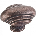 Hardware Resources Amsden 1-5/8 Inch Cabinet Knob - Distressed Oil-Rubbed Bronze