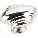 Hardware Resources Amsden 1-5/8 Inch Cabinet Knob - Polished Nickel