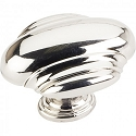Hardware Resources Amsden 1-7/16 Inch Cabinet Knob - Polished Nickel