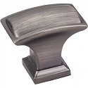 Hardware Resources Annadale 1-1/2 Inch Cabinet Knob - Brushed Pewter