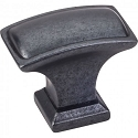 Hardware Resources Annadale 1-1/2 Inch Cabinet Knob - Gun Metal