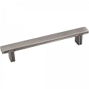 Hardware Resources Anwick 5-1/16 Inch CC Cabinet Pull - Brushed Pewter