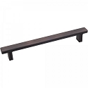 Hardware Resources Anwick 6-5/16 Inch CC Cabinet Pull - Brushed Oil-Rubbed Bronze