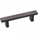 Hardware Resources Anwick 3 Inch CC Rectangle Cabinet Pull - Brushed Oil-Rubbed Bronze