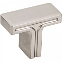 Hardware Resources Anwick 1-3/8 Inch Cabinet Knob- Satin Nickel