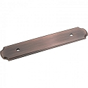 Hardware Resources 96mm CC Pull Backplate - Brushed Oil-Rubbed Bronze