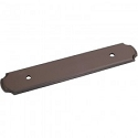 Hardware Resources 96mm CC Pull Backplate - Dark Bronze