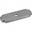 Hardware Resources 2-13/16 Inch Knob Backplate - Gun Metal