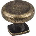 Hardware Resources Belcastel 1 Cabinet Knob - Distressed Antique Brass