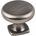 Hardware Resources Belcastel 1 Cabinet Knob - Brushed Pewter