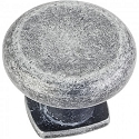Hardware Resources Belcastel 1 Cabinet Knob - Distressed Antique Silver