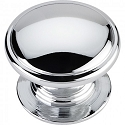 Hardware Resources Durham 1-1/4 Inch Cabinet Knob - Polished Chrome