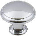 Hardware Resources Gatsby 1-3/16 Inch Cabinet Knob - Polished Chrome