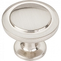 Hardware Resources Gatsby 1-1/4 Inch Cabinet Knob - Satin Nickel