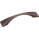 Hardware Resources Glendale 96mm CC Cabinet Pull - Distressed Oil-Rubbed Bronze