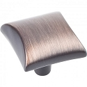 Hardware Resources Glendale 1 Inch Cabinet Knob - Brushed Oil-Rubbed Bronze