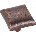 Hardware Resources Glendale 1 Inch Cabinet Knob - Distressed Oil-Rubbed Bronze