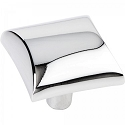 Hardware Resources Glendale 1 Inch Cabinet Knob - Polished Chrome