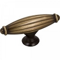 Hardware Resources Glenmore 2-5/8 Inch Cabinet Knob - Antique Brushed Satin Brass