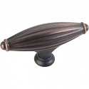 Hardware Resources Glenmore 2-15/16 Inch Cabinet Knob - Brushed Oil-Rubbed Bronze