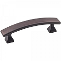 Hardware Resources Hadly 3 Inch CC Cabinet Pull - Brushed Oil-Rubbed Bronze