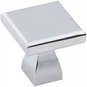 Hardware Resources Hadly 1 Inch Cabinet Knob - Polished Chrome