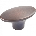 Hardware Resources Hudson 1-7/8 Inch Cabinet Knob - Brushed Oil-Rubbed Bronze