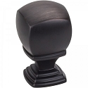 Hardware Resources Katharine 7/8 Inch Cabinet Knob - Brushed Oil-Rubbed Bronze