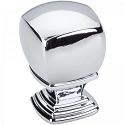 Hardware Resources Katharine 1 Inch Cabinet Knob - Polished Chrome