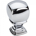 Hardware Resources Katharine 7/8 Inch Cabinet Knob - Polished Chrome