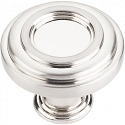 Hardware Resources Lafayette 1-3/8 Inch Cabinet Knob - Satin Nickel