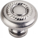 Hardware Resources Lenoir 1-1/4 Inch Cabinet Knob - Brushed Pewter