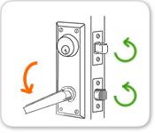 Interconnected Door Lock