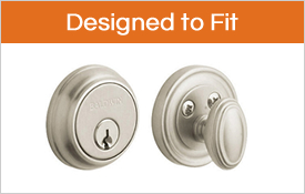 deadbolts that are designed to fit doors with smaller bore holes - Deadbolts