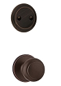 Kwikset 606CV-11P Cove Interior Dummy Handleset INTERIOR TRIM ONLY Venetian Bronze Finish