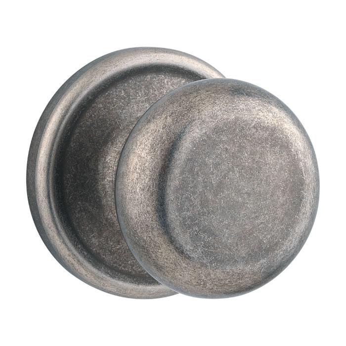 Iron Black, Rustic Pewter - Kwikset Door Hardware - Kwikset Signature Series Hancock Door Knob