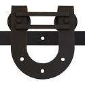 Leatherneck 403DBHH Double Horseshoe Barn Door Track Hanger